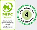 logo pefc pin classe 4 Bac à arbre ARMOR